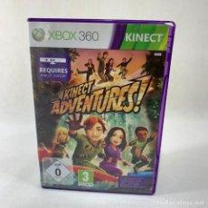 Videojuegos y Consolas: VIDEOJUEGO XBOX 360 - KINECT ADVENTURES! + CAJA + INSTRUCCIONES. Lote 276395978