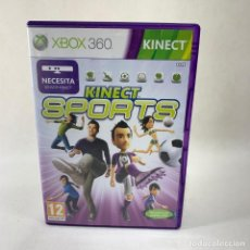 Videojuegos y Consolas: VIDEOJUEGO XBOX 360 - KINECT SPORTS + CAJA + INSTRUCCIONES. Lote 276396178