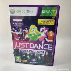 Videojuegos y Consolas: VIDEOJUEGO XBOX 360 - KINECT JUST DANCE GREATEST HITS + CAJA + INSTRUCCIONES. Lote 276396358