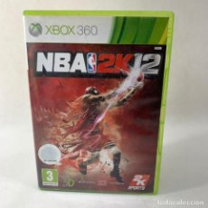 Videojuegos y Consolas: VIDEOJUEGO XBOX 360 - NBA 2K12 + CAJA + INSTRUCCIONES. Lote 276396668