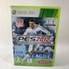 Videojuegos y Consolas: VIDEOJUEGO XBOX 360 - PES 2012 - PRO EVOLUTION SOCCER + CAJA + INSTRUCCIONES. Lote 276396913
