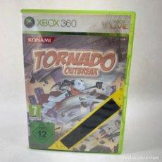 Videojuegos y Consolas: VIDEOJUEGO XBOX 360 - TORNADO OUTBREAK + CAJA + INSTRUCCIONES. Lote 276397118