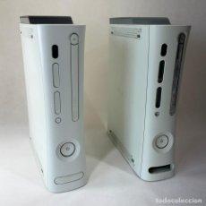 Videojuegos y Consolas: LOTE 2 VIDEOCONSOLAS XBOX 360 BLANCAS 120 GB HDD - VER DESCRIPCIÓN. Lote 276651618
