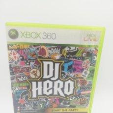 Videojuegos y Consolas: DJ HERO XBOX 360. Lote 277449923