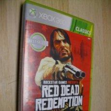 Videojuegos y Consolas: RED DEAD REDEMPTION [REEDICIÓN] XBOX 360. Lote 277505953