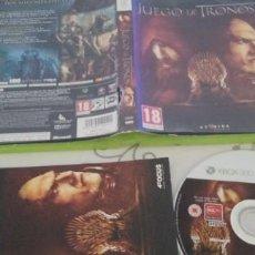 Videojuegos y Consolas: JUEGO DE TRONOS XBOX 360 PAL ESP. Lote 277848568