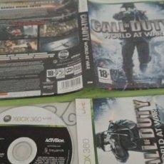 Videojuegos y Consolas: CALL OF DUTY: WORLD AT WAR XBOX 360 PAL ESP. Lote 277849183