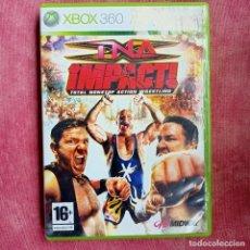 Videojuegos y Consolas: TNA IMPACT TOTAL NOSTOP ACTION WRESTLING - XBOX 360 X360 X-BOX X-360. Lote 278595313