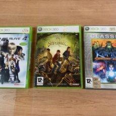 Videojuegos y Consolas: LOTE DE 3 JUEGOS PARA XBOX 360. Lote 278878858