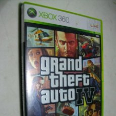 Videojuegos y Consolas: GRAND THEFT AUTO IV JUEGO PARA LA XBOX 360. Lote 279579358