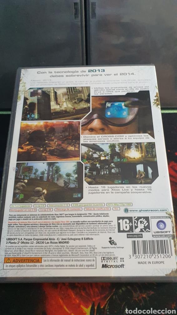 Videojuegos y Consolas: XBOX 360 GHOST RECON ADVANCED WARFIGHTER - Foto 2 - 282534833