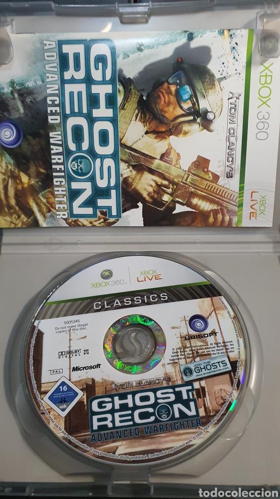 Videojuegos y Consolas: XBOX 360 GHOST RECON ADVANCED WARFIGHTER - Foto 3 - 282534833