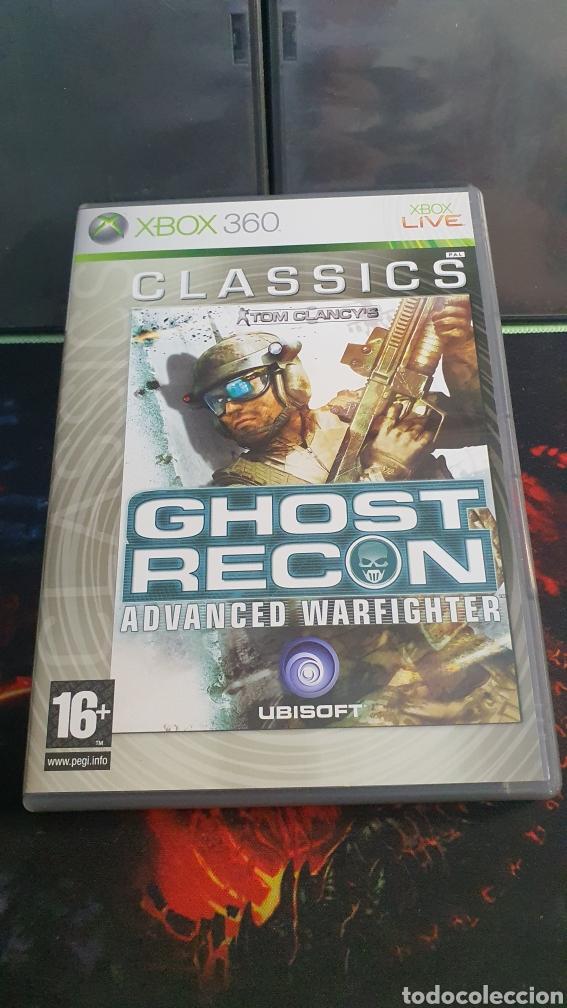 XBOX 360 GHOST RECON ADVANCED WARFIGHTER (Juguetes - Videojuegos y Consolas - Microsoft - Xbox 360)