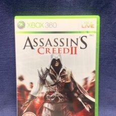 Videojuegos y Consolas: VIDEOJUEGO ASSASSIN´S CREED II XBOX360 UBISOFT MICROSOFT 19X13,5CMS. Lote 284094188