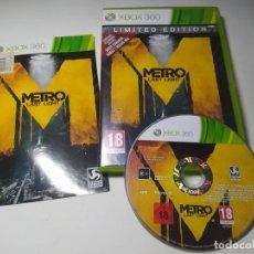 Jeux Vidéo et Consoles: METRO LAST LIGHT ( XBOX 360 - PAL- ESP) (1). Lote 285283653