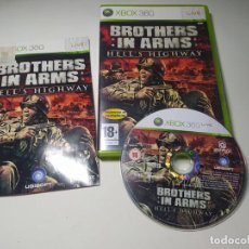 Jeux Vidéo et Consoles: BROTHER IN ARMS HELL´S HIGHWAY ( XBOX 360 - PAL- ESP) (1). Lote 285284513