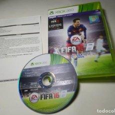 Jeux Vidéo et Consoles: FIFA 16 ( XBOX 360 - PAL- ESP). Lote 285305518