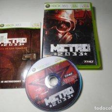 Jeux Vidéo et Consoles: METRO 2033 ( XBOX 360 - PAL- ESP)(1). Lote 285306123