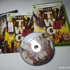 Jeux Vidéo et Consoles: ARMY OF TWO ( XBOX 360 - PAL- ESP). Lote 285311048