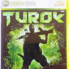 Videojuegos y Consolas: XBOX 360 JUEGO - TUROK - CON MANUAL -. Lote 285575918