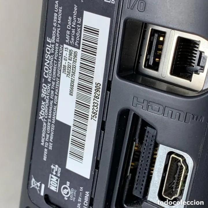 Videojuegos y Consolas: VIDEOCONSOLA XBOX 360 NEGRA 120 GB HDD + MANDO + CABLES - Foto 7 - 287556863