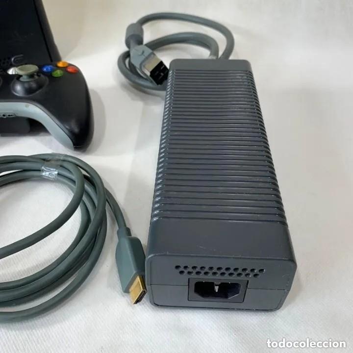 Videojuegos y Consolas: VIDEOCONSOLA XBOX 360 NEGRA 120 GB HDD + MANDO + CABLES - Foto 8 - 287556863