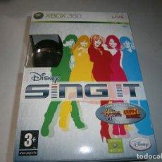 Videojuegos y Consolas: DISNEY SING IT XBOX 360 + MICROFONO NUEVO PRECINTADO. Lote 287770173