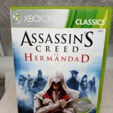Videojuegos y Consolas: ASSASSIN CREED LA HERMANDAD XBOX 360. Lote 287848003