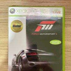 Videojuegos y Consolas: FORZA MOTORSPORT 3 XBOX360. Lote 287974253
