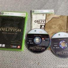 Videojuegos y Consolas: OBLIVION XBOX 360 COMPLETO CON MAPA. Lote 288136878