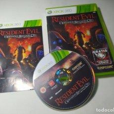Videojuegos y Consolas: RESIDENT EVIL OPERATION RACCOON CITY ( XBOX 360 - PAL - ESP) (1). Lote 288149728