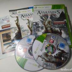Videojuegos y Consolas: ASSASSIN´S CREED 3 ( XBOX 360 - PAL - ESP). Lote 288149793