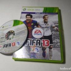 Videojuegos y Consolas: FIFA 13 ( XBOX 360 - PAL - ESP). Lote 288149883