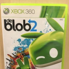 Videojuegos y Consolas: DE BLOB 2 - X360 (2ª MANO - BUENO). Lote 288427468