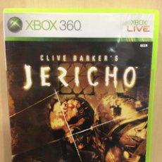 Videojuegos y Consolas: JERICHO CLIVE BARKER´S - XBOX 360 (2ª MANO - BUENO). Lote 288427493