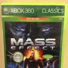 Videojuegos y Consolas: MASS EFFECT - X360 (2ª MANO - BUENO). Lote 288427498