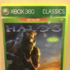 Videojuegos y Consolas: HALO 3 - X360 (2ª MANO - BUENO). Lote 288427503
