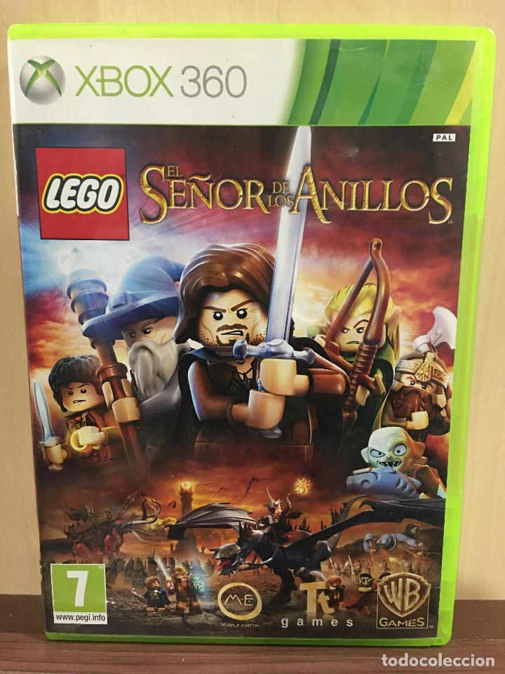 LEGO EL SEÑOR DE LOS ANILLOS - X360 (2ª MANO - BUENO) (Juguetes - Videojuegos y Consolas - Microsoft - Xbox 360)