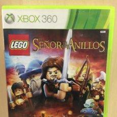 Videojuegos y Consolas: LEGO EL SEÑOR DE LOS ANILLOS - X360 (2ª MANO - BUENO). Lote 288427523