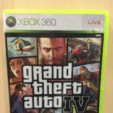 Videojuegos y Consolas: GRAND THEFT AUTO IV XBOX 360 (2ª MANO - BUENO). Lote 288427563