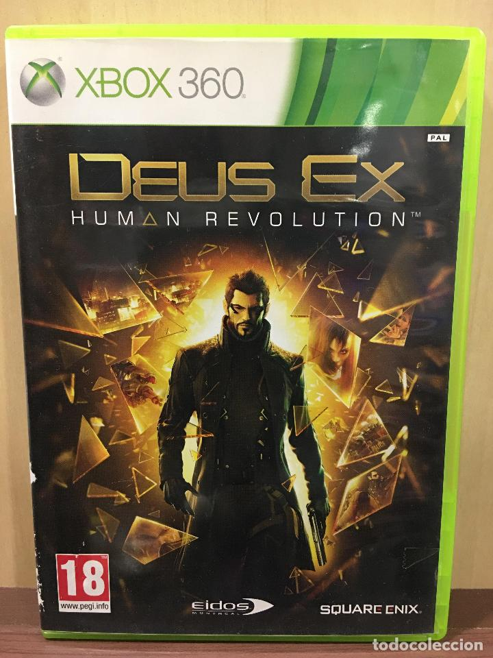 DEUS EX HUMAN REVOLUTION - X360 (2ª MANO - BUENO) (Juguetes - Videojuegos y Consolas - Microsoft - Xbox 360)