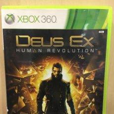 Videojuegos y Consolas: DEUS EX HUMAN REVOLUTION - X360 (2ª MANO - BUENO). Lote 288427578
