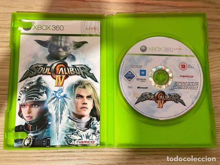 Videojuegos y Consolas: Soul Calibur IV Xbox360 PAL - Foto 2 - 288517573