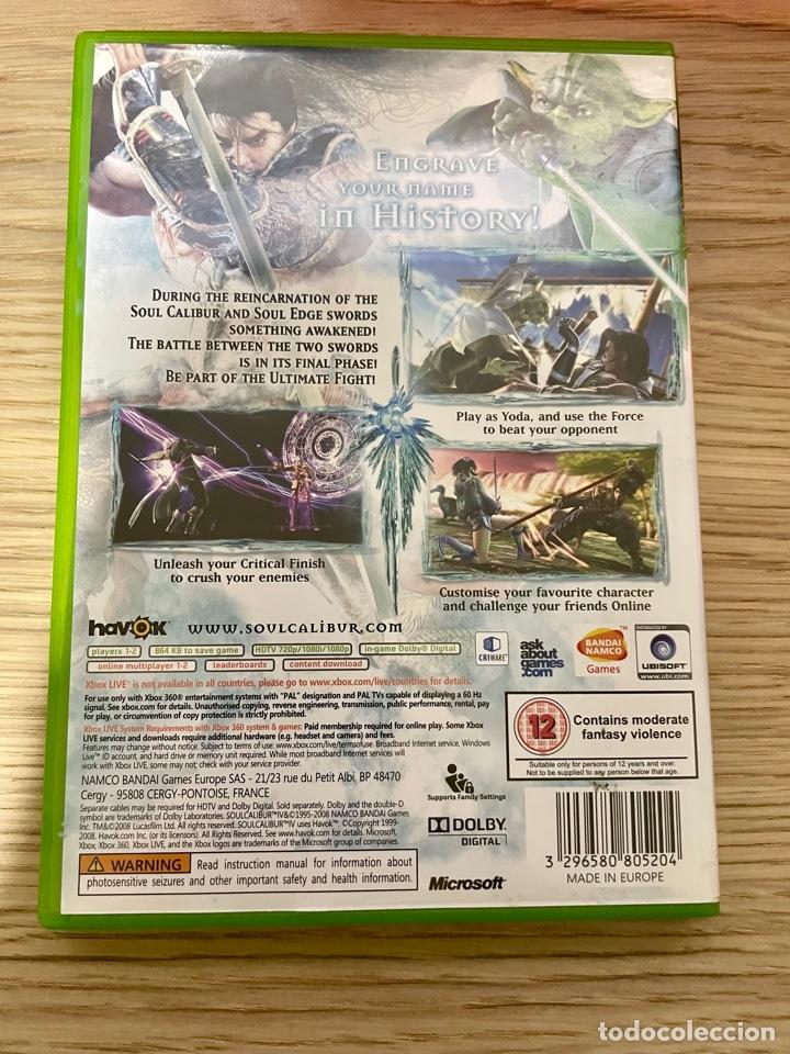 Videojuegos y Consolas: Soul Calibur IV Xbox360 PAL - Foto 4 - 288517573