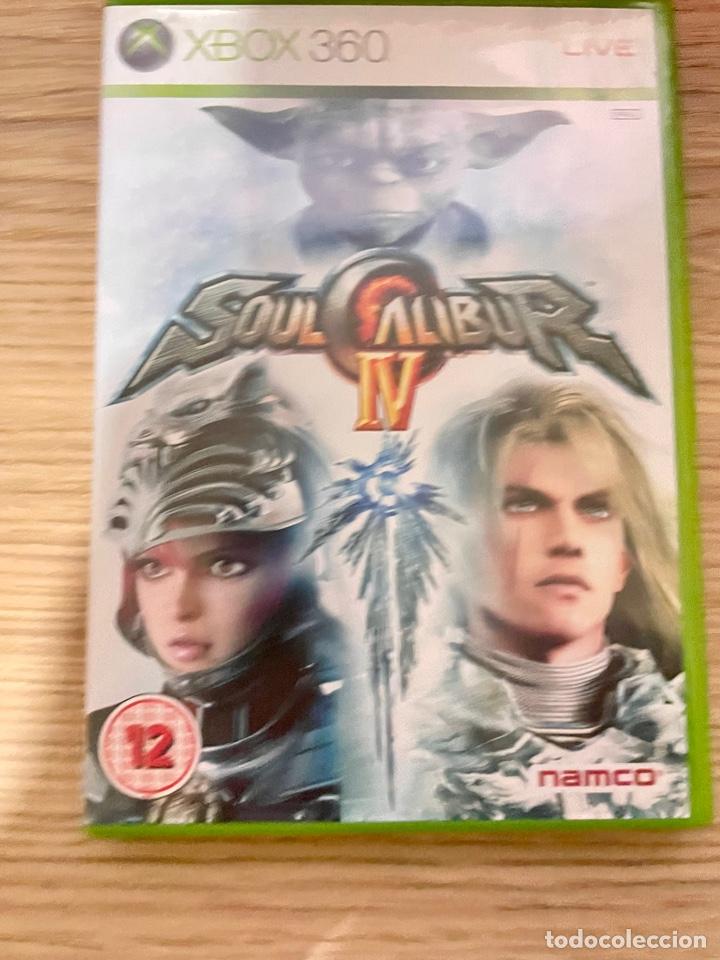 SOUL CALIBUR IV XBOX360 PAL (Juguetes - Videojuegos y Consolas - Microsoft - Xbox 360)