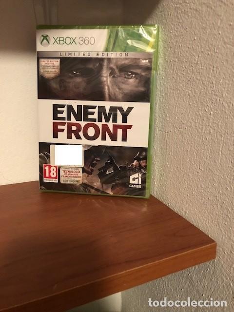 ENEMY FRONT EDICIÓN LIMITADA LIMITED EDITION MICROSOFT XBOX 360 NUEVA PRECINTADA PAL ESPANA (Juguetes - Videojuegos y Consolas - Microsoft - Xbox 360)