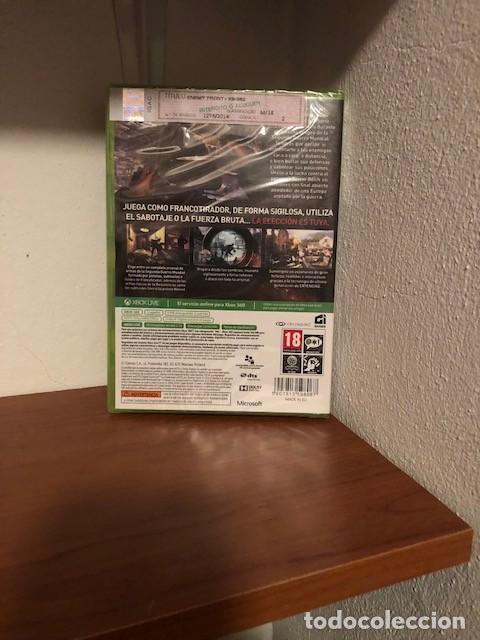 Videojuegos y Consolas: Enemy Front Edición Limitada Limited Edition Microsoft XBOX 360 Nueva Precintada PAL Espana - Foto 3 - 288679273