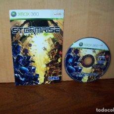 Videojuegos y Consolas: STORMRISE - XBOX 360 - SOLO CD DEL JUEGO, CON MANUAL DE INSTRUCCIONES. Lote 289880603