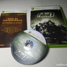Videogiochi e Consoli: FALLOUT 3 ( XBOX 360 - PAL -ESP) G2 -S. Lote 290047008