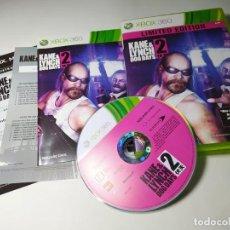 Videojuegos y Consolas: KANE & LYNCH 2 ( CON ESPAÑOL) ( XBOX 360 - PAL -UK) G2 -S. Lote 290047448